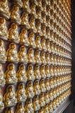 стена статуи Будды Стоковое Изображение