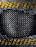 Стена стальной пластины Стоковое фото RF