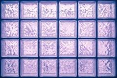 Стена стеклянного блока стоковые фото