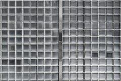 Стена стеклянного блока стоковое фото rf