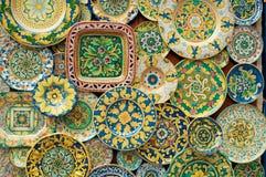 стена сувениров праздника Стоковое Изображение