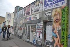 стена сувениров berlin Стоковые Изображения