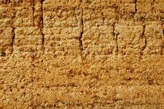 стена суглинка Стоковая Фотография