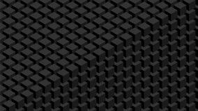 стена схематического изображения кубиков 3d уникально иллюстрация штока