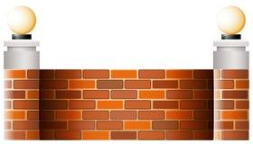 Стена с абажурами Стоковая Фотография