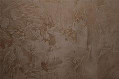 Стена с декоративным гипсолитом Стоковое Фото