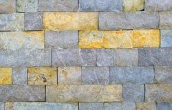 Стена сделанная из каменных блоков Стоковая Фотография