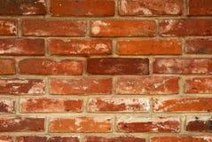 Стена сделанная красных кирпичей Стоковые Изображения RF