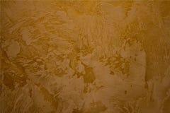 Стена с золотой текстурой Стоковые Изображения RF