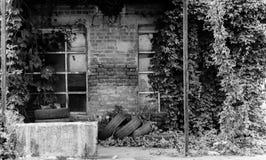 Стена с окном Стоковые Фотографии RF