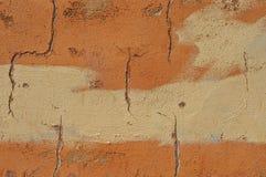 Стена с повреждением Стоковые Фотографии RF