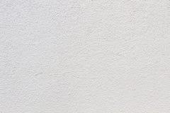 Стена с сырцовой структурой в белизне Стоковое Фото