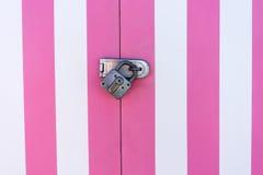 Стена с padlock Стоковое фото RF