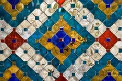 стена Таиланда картины Стоковое фото RF