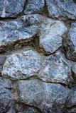 стена текстуры голубого камня Стоковые Фотографии RF