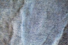 Стена текстуры джинсовой ткани Стоковое Фото