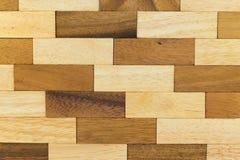 стена текстуры кирпича деревянная Стоковое Фото