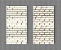 стена текстуры кирпича предпосылки идеально безшовная Стоковая Фотография RF