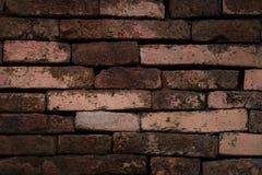 стена текстуры кирпича предпосылки старая Стоковая Фотография RF