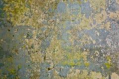 стена текстуры кирпича старая Старая пакостная конкретная grungy стена с, который слезли краской Стоковое Изображение