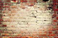 стена текстуры кирпича старая Стоковые Изображения