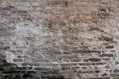 стена текстуры кирпича старая Стоковое Фото