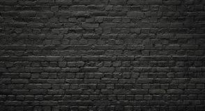 стена текстуры кирпича темная Стоковая Фотография RF