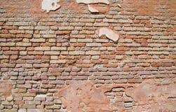 стена текстуры кирпича grungy Стоковые Изображения RF