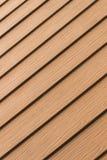 Стена текстуры коричневая деревянная в моем доме Стоковое Изображение RF