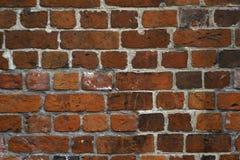 стена текстуры красного цвета кирпича Стоковая Фотография