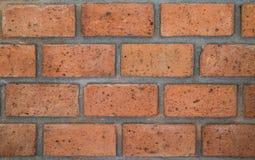стена текстуры красного цвета кирпича Стоковое Фото