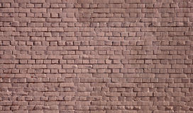стена текстуры предпосылки покрашенная кирпичом Стоковые Фотографии RF