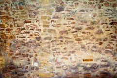 стена текстуры предпосылки старая каменная Стоковое Изображение