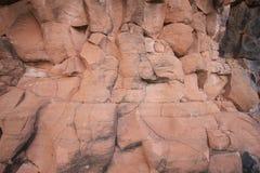 стена текстуры предпосылки каменная Стоковая Фотография RF
