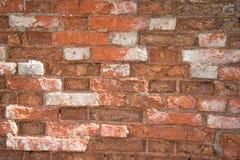 стена текстуры съемки кирпича предпосылки горизонтальная красная Стоковые Фото