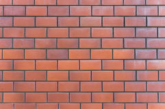 стена текстуры съемки кирпича предпосылки горизонтальная красная Стоковое Изображение RF