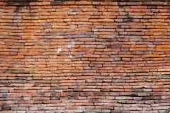 стена текстуры съемки кирпича предпосылки горизонтальная красная Стоковая Фотография