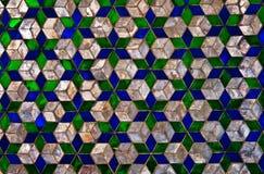 стена текстуры типа искусства тайская Стоковое Изображение