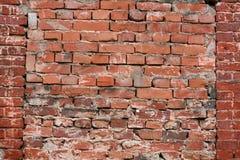 стена текстуры grunge кирпича Стоковые Изображения