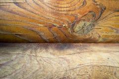 Стена темных деревянных планок Стоковая Фотография RF