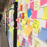 Стена терапией метро стоковые изображения rf