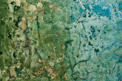стена треснутая предпосылкой распаденная старая покрашенная Стоковые Фото