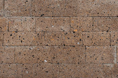 Стена туфа Стоковая Фотография