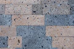Стена туфа Стоковая Фотография RF