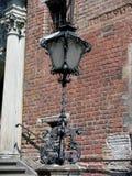 стена улицы кирпича светлая старая Стоковое Фото