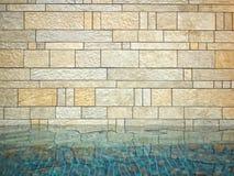 стена фонтана Стоковая Фотография RF