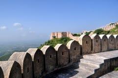 Стена форта стоковая фотография