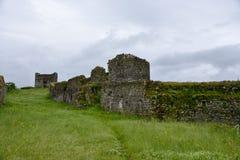 Стена форта Lesendro, Черногории Стоковое Изображение RF