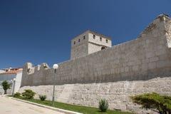 стена Хорватии pag города стоковые фото