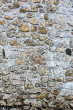 Стена цвета каменная, старая каменная стена Стоковая Фотография RF